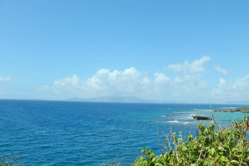 The views from Cape Menza in Okinawa.