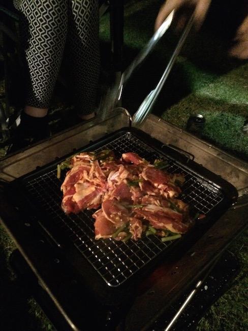 campfire BBQ