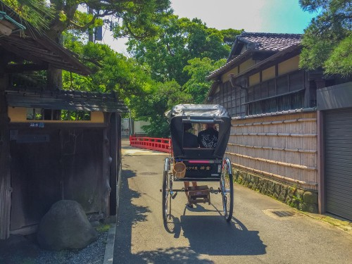 Exploring Kamakura with a rickshaw tour makes your travel in Japan memorable forever