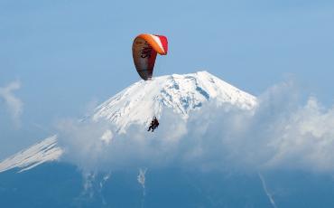 paraglide japan