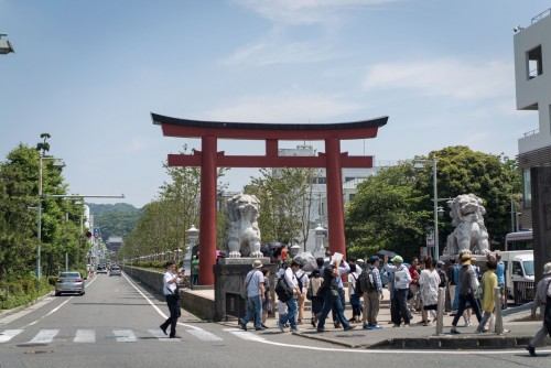 kamakura is the best places to feel relaxed while doing sight-seeing because of the easy access from Tokyo