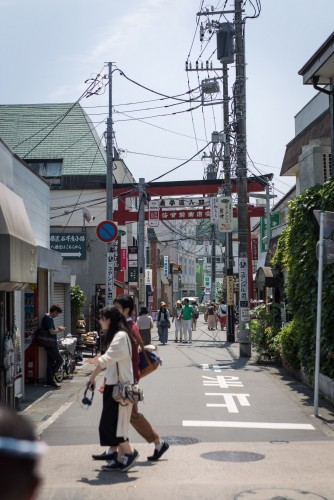 Exploring Kamakura with a rickshaw is recommended for couples as well