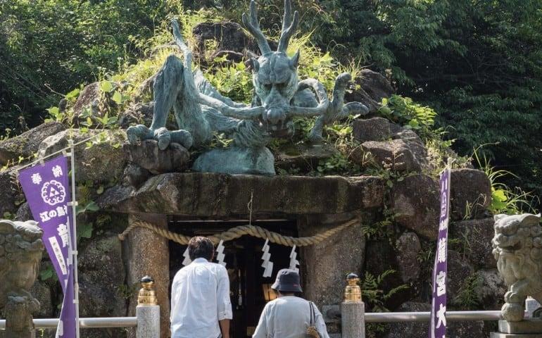 Enoshima Okutsunomiya Shrine walking route