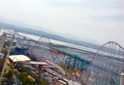 Riding the longest roller coaster in the world is a greatly brave challenge