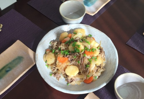 As you see in recipe for cooking nikujaga,it enable you to taste delicious cuisine quickly and easily as well