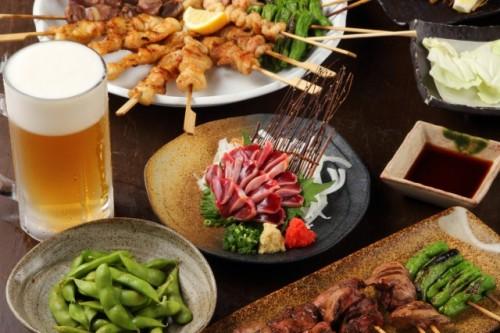 Food menu in Izakaya Japan