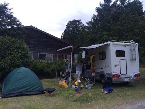 camper van camping