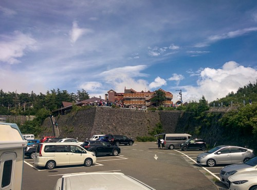 Subaru Line 5th station, this is the gate for climbing Mt. Fuji!