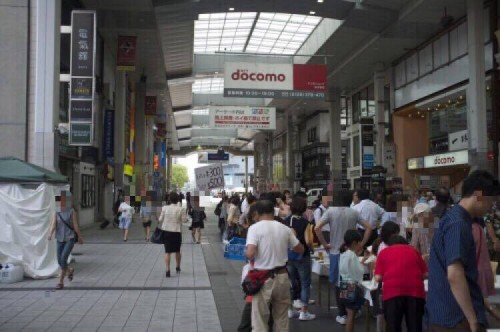 The central shopping arcades have resumed business as usual, hosting a number of festivals and markets.