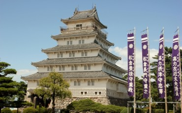 Shimabara castle in Nagasaki prefecture