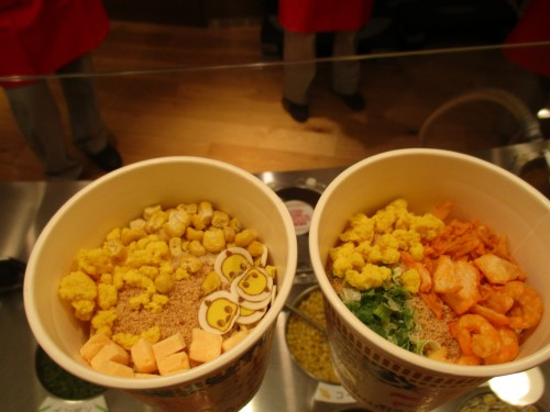 My Cupnoodles Factory workshop in the Cup Noodles Museum