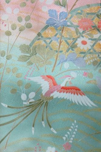 kimono pattern wagara