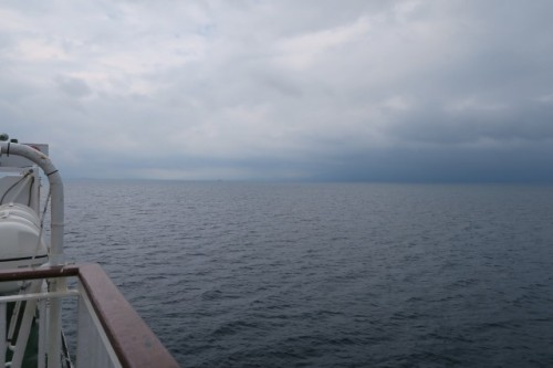On the way to Yakushima, by ferry