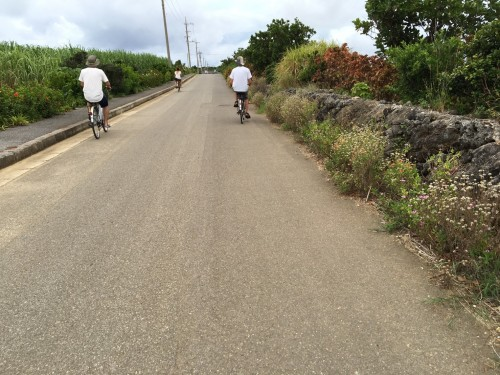 Hateruma Island in Okinawa , enjoy cycling !