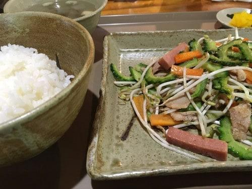 Iriomote Island goya cuisine