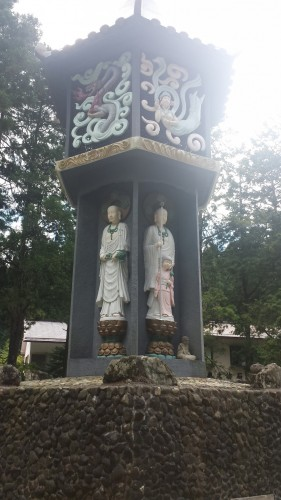 The monument in Mount Koya we discovered while exploring mount koya