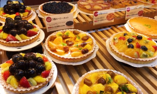 Cute cake shops and cafes in Sangenjaya