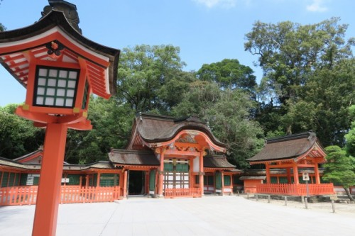 Here is the main shrine