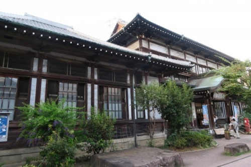 Here is one of the most famous Onsens in Oita, Takegawara Onsen