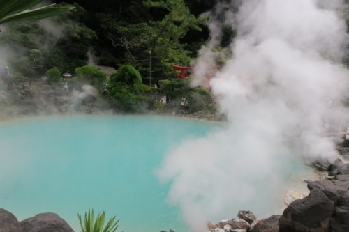 . It is also one of the only hells where you can buy pudding made by hot spring steam and eggs