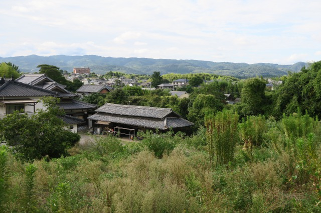 The view remind us as if we're getting back to the edo era