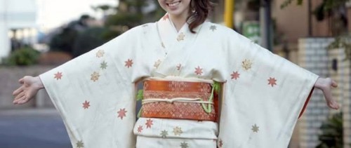 kimono is one of japanese traditional costume