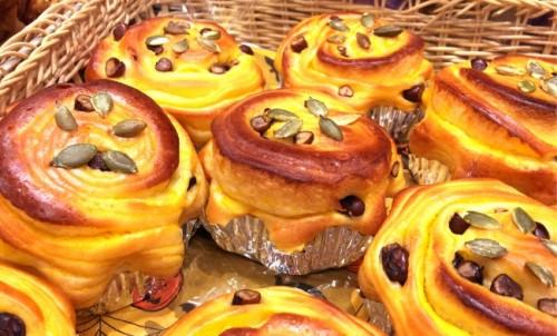 Autumn baked goods