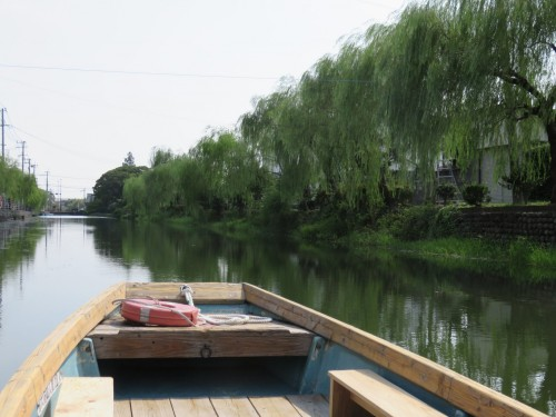 doing river cruise, you fell local atmosphere in Japan