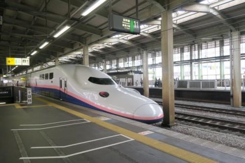 JR Hokuriku shinkansen, Japan.