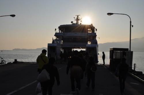 Miyajima hiroden ferry