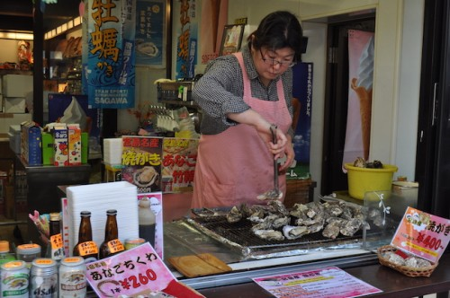 oyster vendor