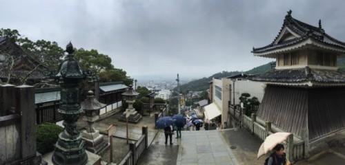 A stunning view from Konpira peak!