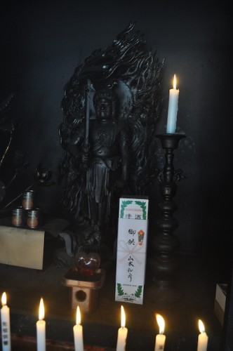 The eternal flame statue
