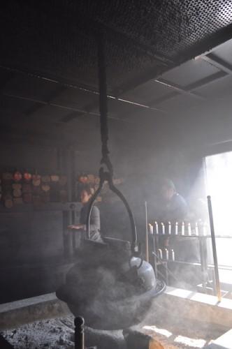 The eternal flame Mt. misen