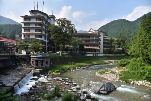 Kawara no Yu publish bath in Shima onsen