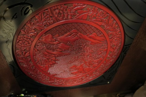 Mount Fuji decoration pottery
