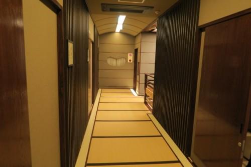 Interior of Ishidaya Ryokan
