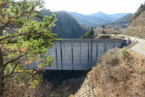 Dum point of Lake Okushima in Nakanojo town
