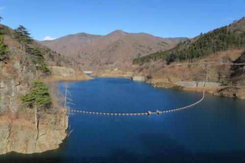 Lake Okushima in Nakanojo town
