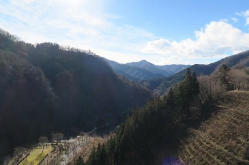 Mountain view from Lake Okushima