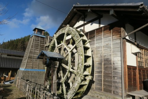 Okaikosan no sato holds the Water wheel that is the symbol of this small village.
