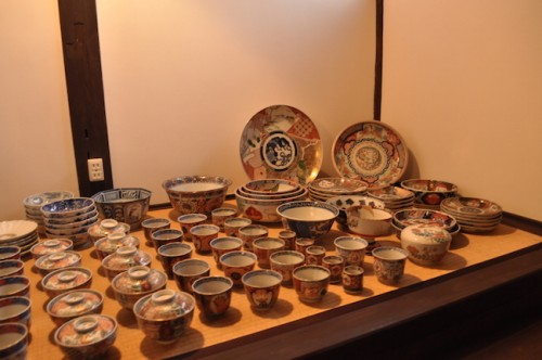 Imari ceramics collection