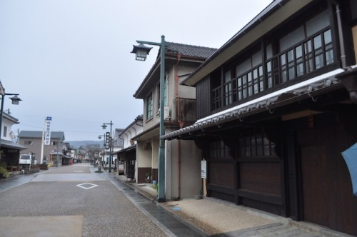 Shiota old town in Saga prefectue