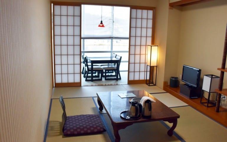 Staying in Ryokan at Yobuko, Saga prefecture