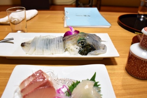 seiriki ryokan raw squid