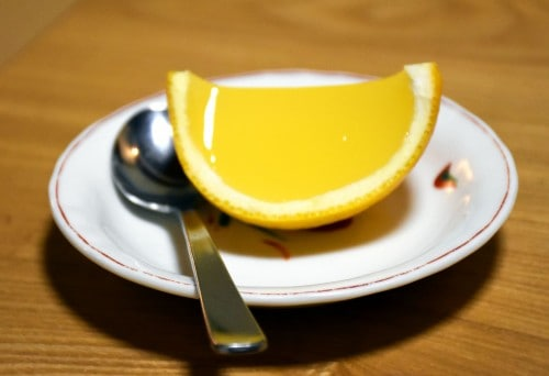 seiriki ryokan jelly dessert
