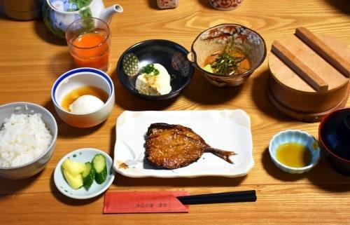 seiriki ryokan breakfast