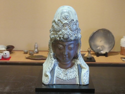 Many kinds of Karatsu ceramics
