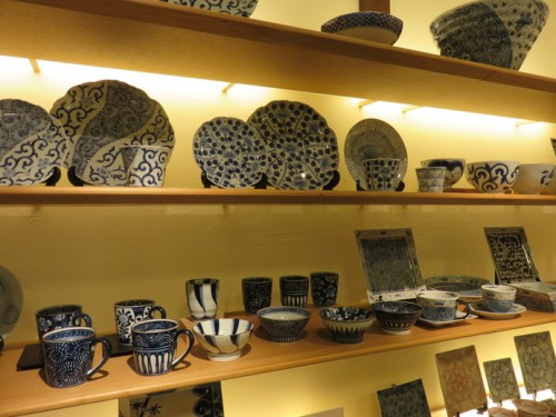 A collections of Arita ceramics