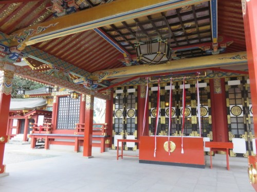 Yutoku Inari Shrine in Saga, amazing colourations and designs